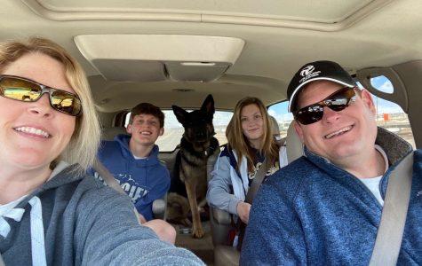 The Alton family enjoying family time. (Severn Alton back left) (Katelyn Alton back right)