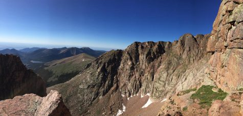 View off Pikes Peak