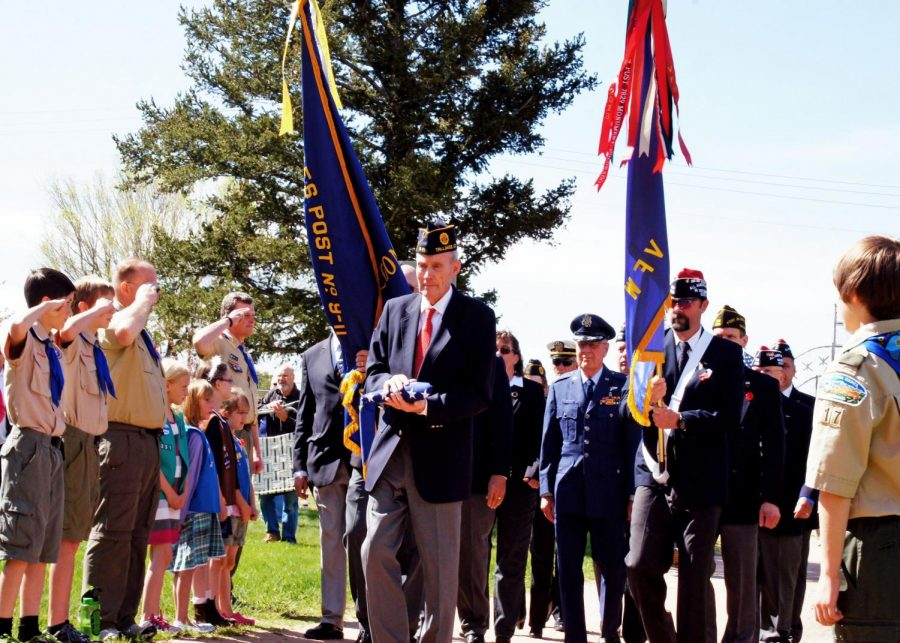 A previous Memorial Day celebration at Monument Cemetery. Photo from townofmonument.org.