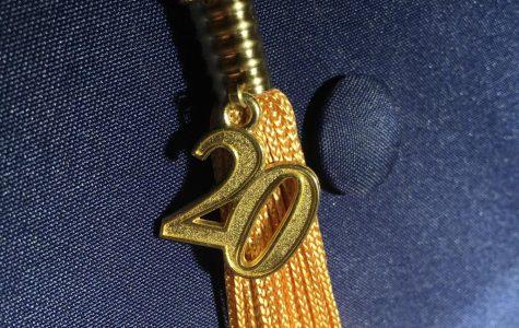 2020's cap and tassel.