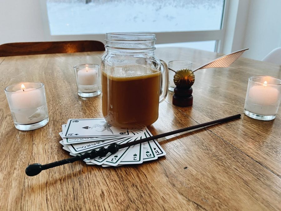 Butterbeer, as imagined by Luxe and Kaitlyn
