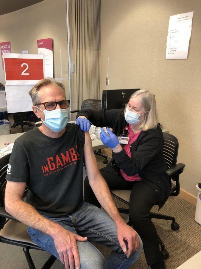 Teachers Receive COVID-19 Vaccine